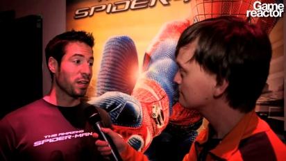E3 12: The Amazing Spider-Man -haastattelu