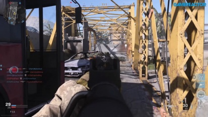 Call of Duty: Modern Warfare - Team Death Match Euphrates Bridge Gameplay