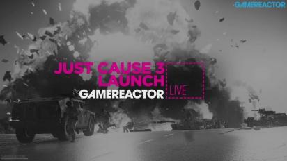 Just Cause 3 -julkaisutapahtuma, osa 1