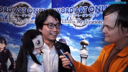 Sword Art Online - Yosuke Futami -videohaastattelu
