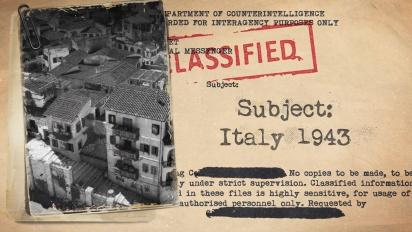 Sniper Elite 4 - Italia 1943 -tarinatraileri