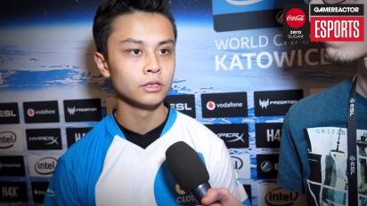 IEM Katowice 2018 CS:GO - Stewie2K haastattelussa