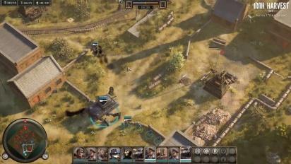 Iron Harvest - Alpha 1 -pelikuvatraileri