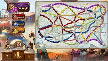 Ticket to Ride - PS4 Play Link -pelikuvatraileri