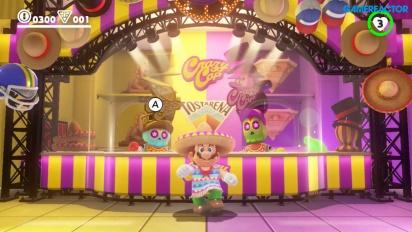 Super Mario Odyssey - meksikolaista tanssimista