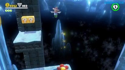 Super Mario Odyssey -  Sand Kingdom - salaisen alueen pelikuvaa