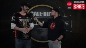 CWL Seattle - Gunless Winner haastattelussa