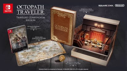 Octopath Traveler - E3 2018 -traileri