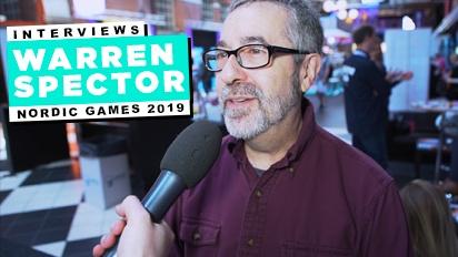 Nordic Game 19 - Warren Spector haastattelussa