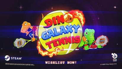Dino Galaxy Tennis - Steam-traileri
