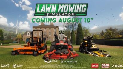 Lawn Mowing Simulator - Release Date Trailer