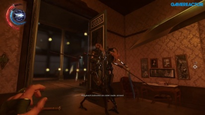 Dishonored 2 -pelikuvaa (PC) - Corvo Clockwork Mansionissa