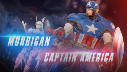 Marvel vs. Capcom: Infinite - hahmotraileri 1