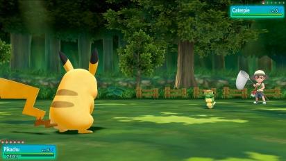 Pokémon: Let's Go Pikachu!/Let's Go Eevee! - E3-pelikuvaa