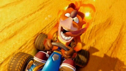 Crash Team Racing Nitro-Fueled - paljastustraileri