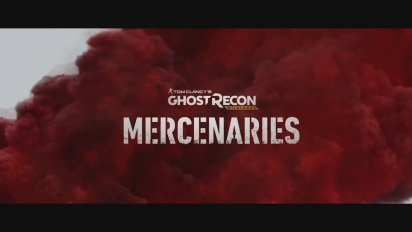 Ghost Recon: Wildlands - Mercenaries-traileri