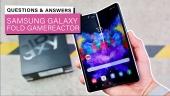 Samsung Galaxy Fold - Gamereactor Q&A