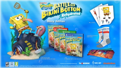 SpongeBob SquarePants: Battle for Bikini Bottom - Rehydrated - Shiny Edition -traileri