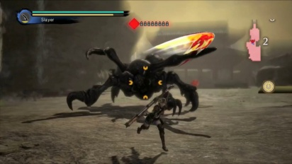 Toukiden: Kiwami - Rifle Weapon - Gameplay Trailer