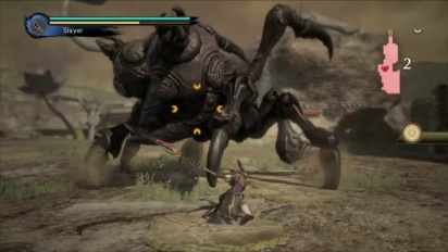 Toukiden: Kiwami -  Naginata Weapon - Gameplay Trailer