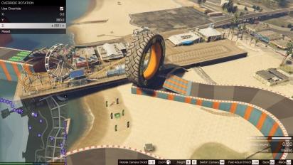 Grand Theft Auto V - Stunt Race Creator Trailer