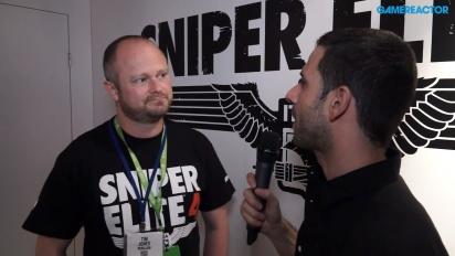 Sniper Elite 4 - Tim Jonesin haastattelu