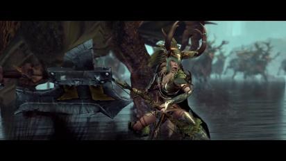 Total War Warhammer - Esittelyssä Glade Lord ja Forest Dragon