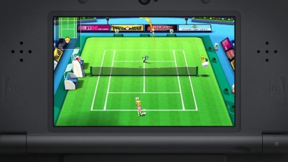 Mario Sports Superstars - Tennis Trailer