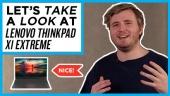 Nopea katsaus - Lenovo ThinkPad X1 Extreme