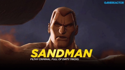 Marvel Ultimate Alliance 3: The Black Order - Fighting Sandman -pelikuvaa