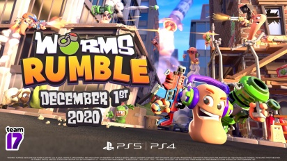 Worms Rumble - Release Date and Open Beta Announcement Traileri
