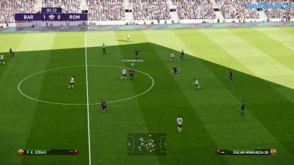 eFootball PES 2020 - Data Pack 3.0 4K PS4 Pro Full Match Gameplay