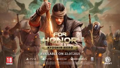 For Honor - Become a Kyoshin -paljastustraileri