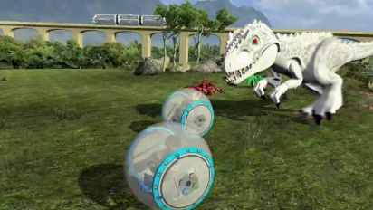 Lego Jurassic World - VIP Tour Trailer