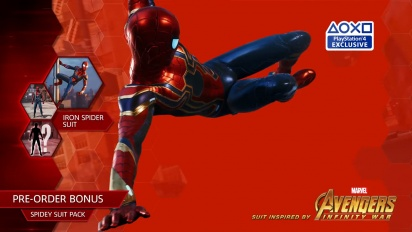 Spider-Man - Iron Spider Suit -traileri