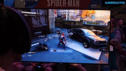 Spider-Man - E3 Showfloor -pelikuvaa
