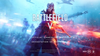 Battlefield V - Gamescom Trailer -pätkä