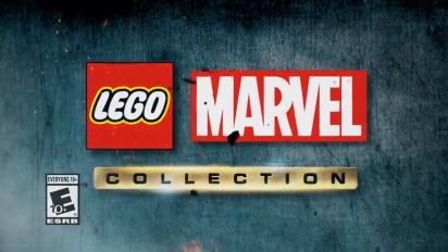 Lego Marvel Collection - virallinen julkaisutraileri