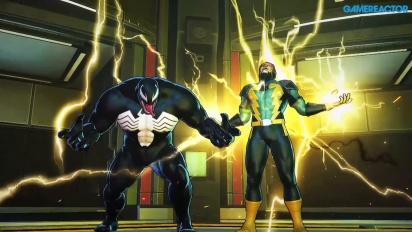 Marvel Ultimate Alliance 3: The Black Order - Venom and Electro -pelikuvaa