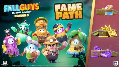 Fall Guys: Ultimate Knockout - Season 5 Fame Path -traileri