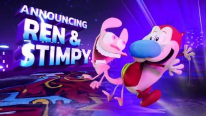 Nickelodeon All-Star Brawl - Ren & Stimpy -paljastustraileri