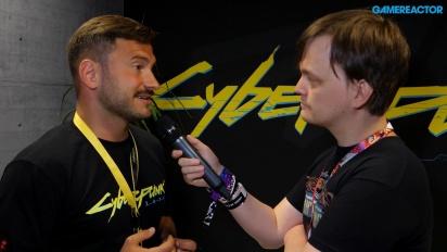 E3 2018: Cyberpunk 2077 - Stanisław Święcicki haastattelussa