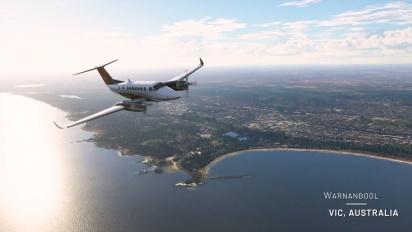 Microsoft Flight Simulator - julkaisutraileri 'Around the World Tour'
