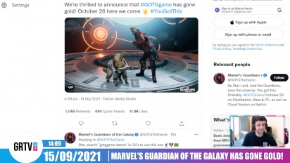 Marvel's Guardians of the Galaxy has gone gold