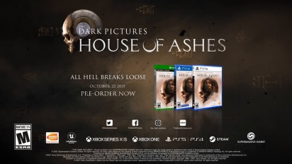 The Dark Pictures Anthology: House of Ashes - 20 Minutes of Gameplay with Game Director's Commentary