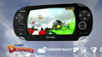 Little Deviants - PS Vita Trailer