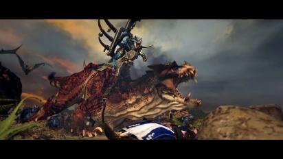 Total War: Warhammer II - Lizardmen-traileri