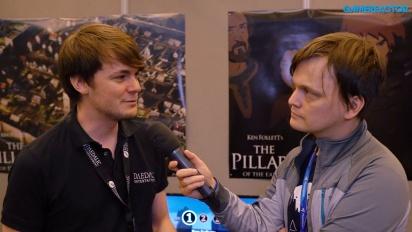 The Pillars of the Earth - Kevin Mentz haastattelussa