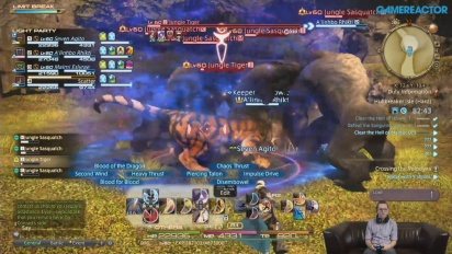 Final Fantasy XIV: Stormblood -livestriimin uusinta