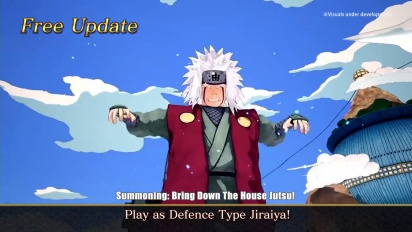 Naruto to Boruto: Shinobi Striker - Jiraiya - ilmainen päivitys
